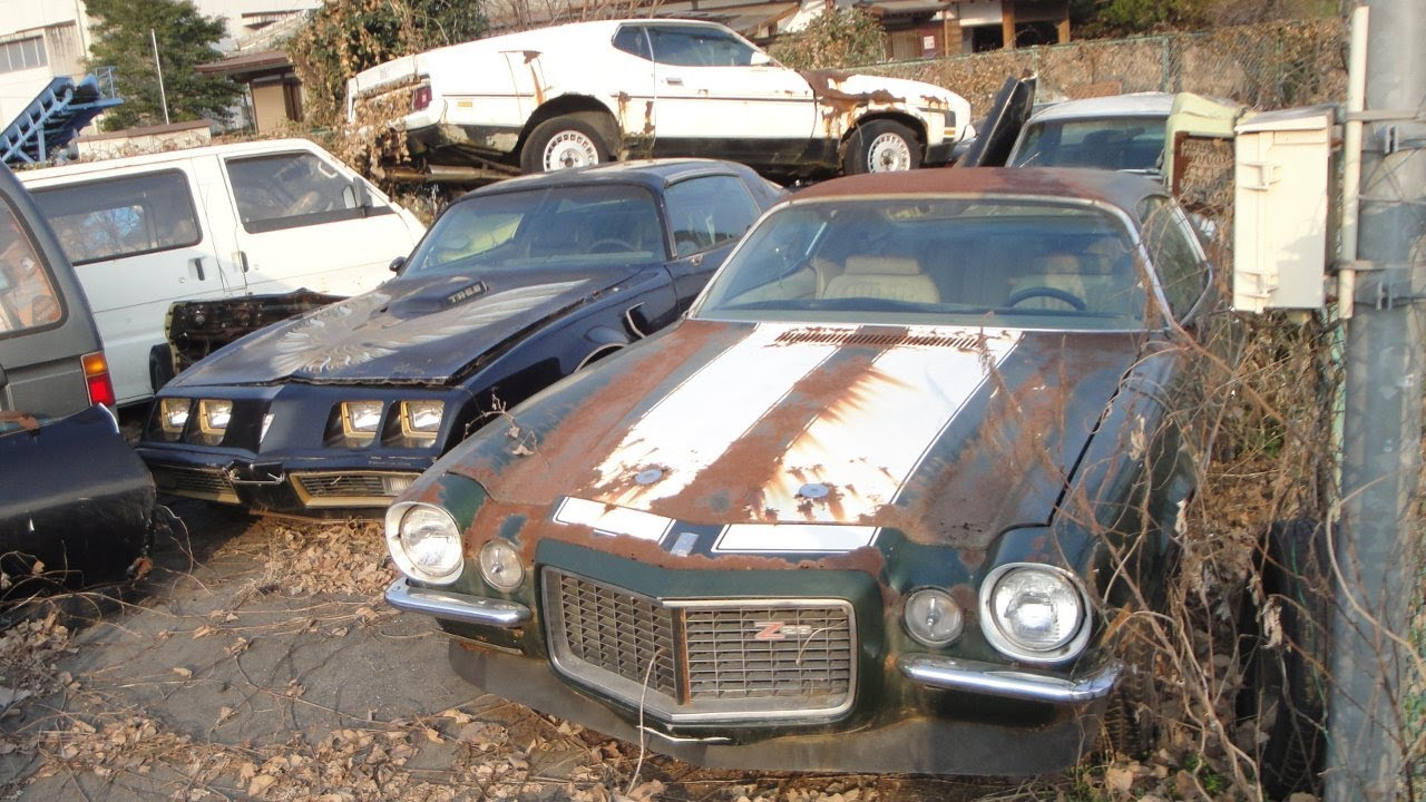 American Muscle Car Barn Find In Japan Is All Folks Are