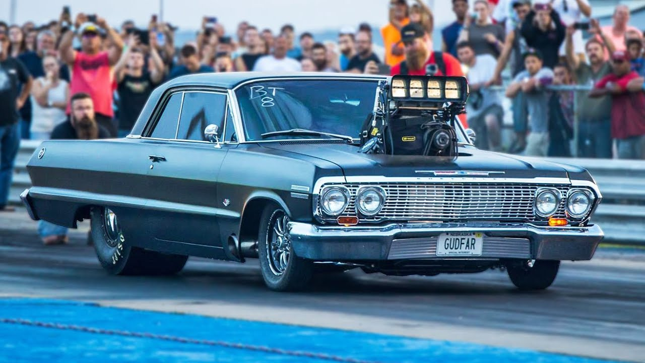 Is Gudfar Impala LOUDEST Drag Racing Muscle Car The LOUDEST