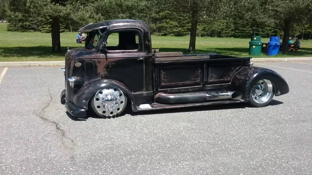 1938 Ford Coe Truck For Sale >> You Gonna Love This WICKED 1938 Ford COE Rat Rod!