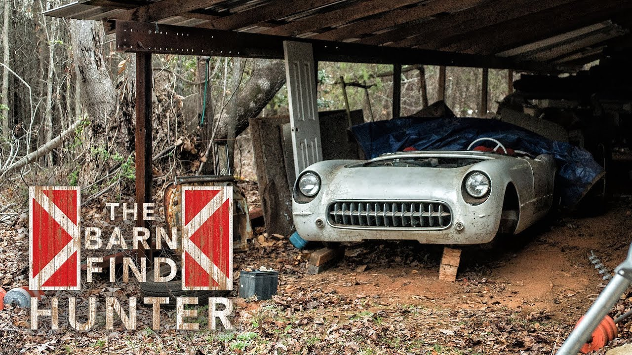 Astounding Barn Finds With American Classics And Italian Super Expensive Machines