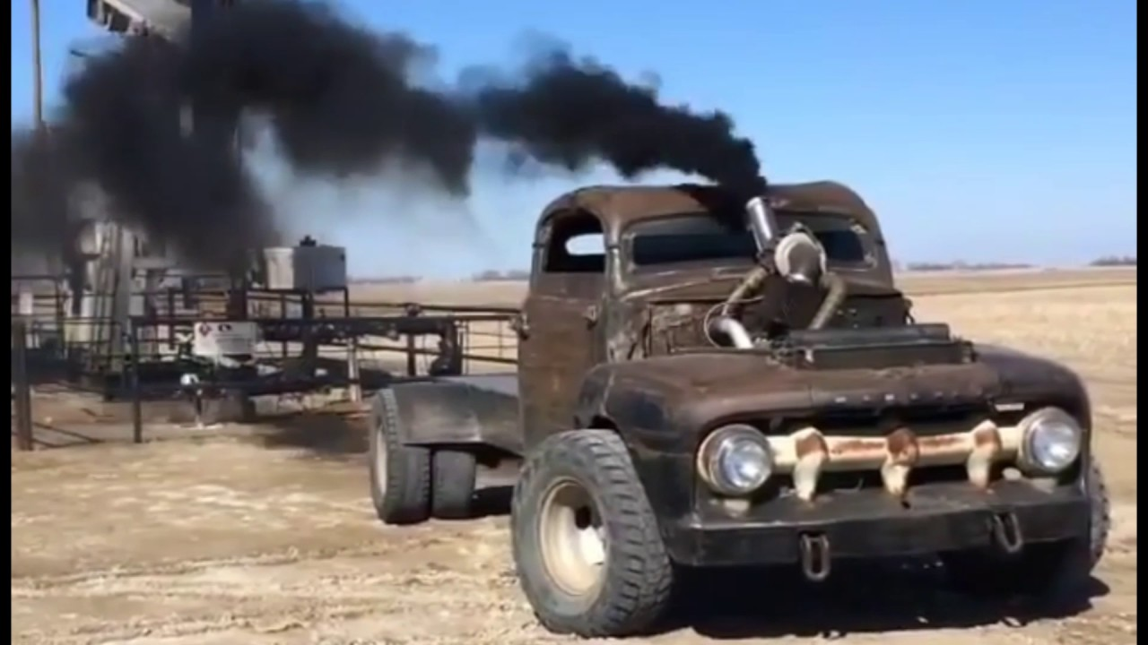 Diesel Rat Rods So Crazy They Made Mad Max Cry