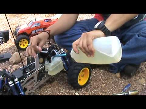 How To Break In Ur RC Nitro Engine-RC School Is In Session