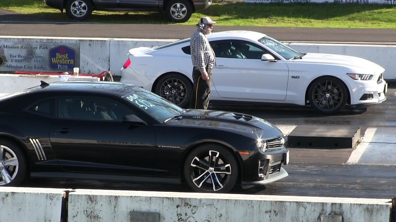 New Mustang Gt Vs Zl1 Camaro The Best Of Modern Muscle Cars