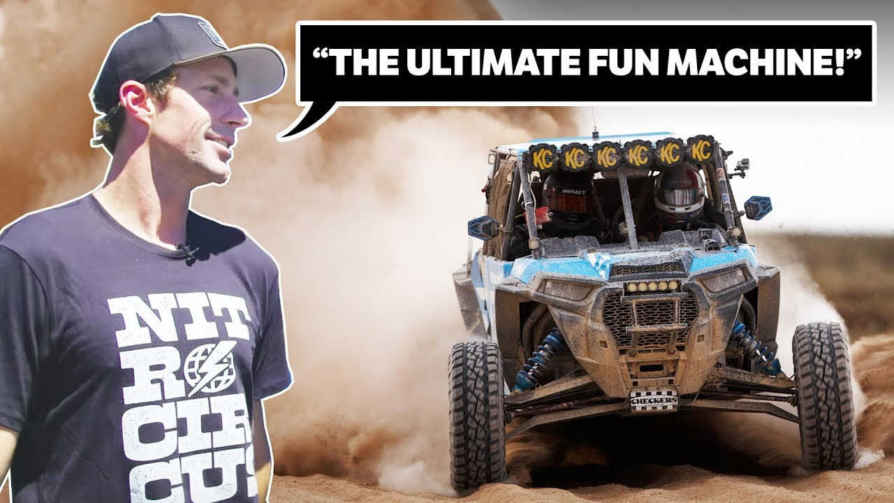 Polaris RZR Takes On 500 Miles Of Brutal Desert Racing!