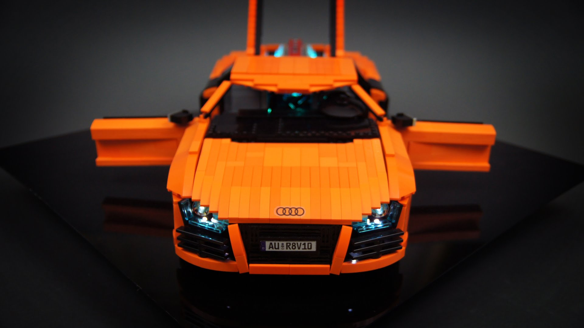 Video Of The Day Lego Technic Rc Audi R8 V10