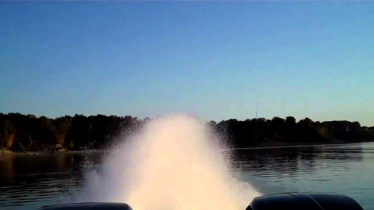 Witness The World's Fastest Pontoon Boat In Action!