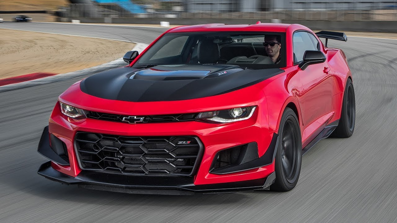 2018 Chevrolet Camaro Zl1 1le Is A Bona Fide Supercar
