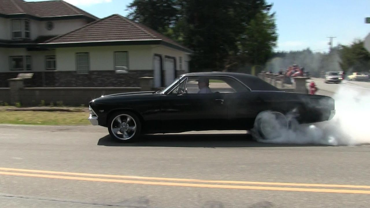 Insane Hot Rod And Muscle Car Street Launches And Burnouts - Cool cars doing burnouts