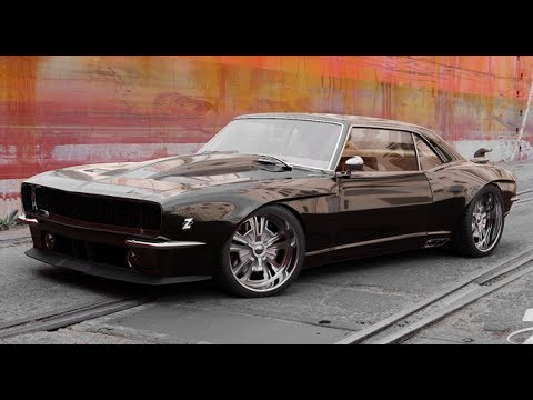 Muscle Cars Old And New In An Epic Burnout Party