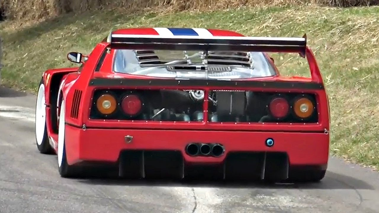 The Ferrari F40 LM Is A Timeless Masterpiece! Massive POWER