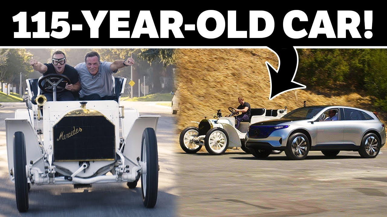 This Guy Took A 115 Year Old Mercedes Simplex For A Ride!!