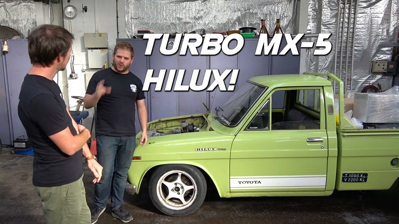 This Is Well Worth A Watch! Driftworks Build A 1972 Toyota Hilux
