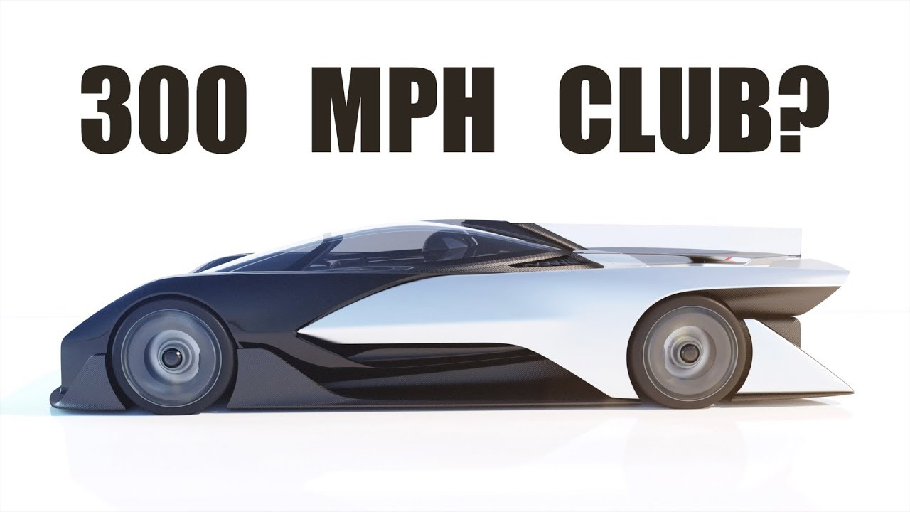 Who will reach 300 mph first - electric cars or ICE powered cars!?